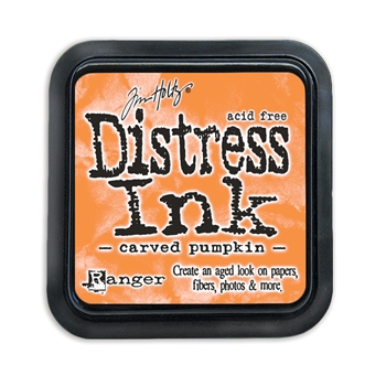 Tim Holtz Distress Ink Pad CARVED PUMPKIN Ranger TIM43201
