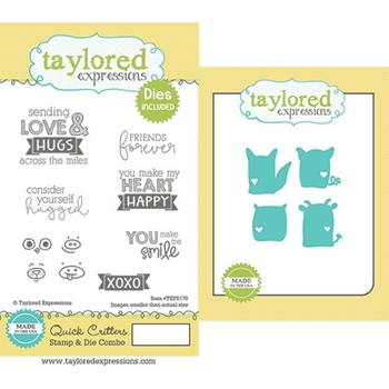 Taylored Expressions QUICK CRITTERS Stamp and Die Set TEPS170