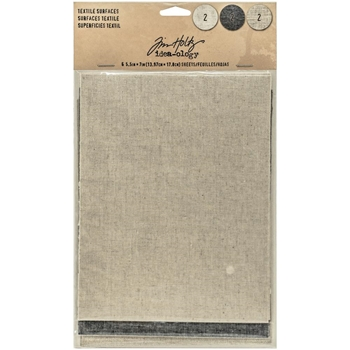 RESERVE Tim Holtz Idea-ology TEXTILE SURFACES Paperie TH93294