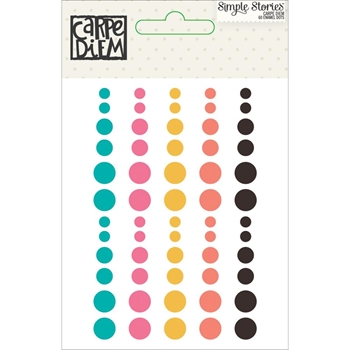 Simple Stories CARPE DIEM Enamel Dots 6631