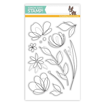 Simon Says Clear Stamps SPRING FLOWERS SSS101595 Reason To Smile