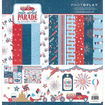 PhotoPlay MAIN STREET PARADE 12 x 12 Collection Pack MS2220