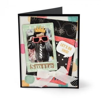 Sizzix PHOTO FRAMES AND PROPS Thinlits Die Set 661400