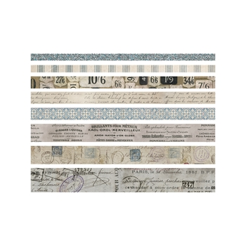Tim Holtz Idea-ology FRENCH Design Tape Paperie TH93355