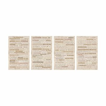 RESERVE Tim Holtz Idea-ology CLIPPINGS Stickers Paperie TH93583
