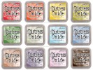 Tim Holtz Distress OXIDE INK PAD SET OF 12