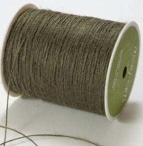 May Arts OLIVE Twine String Burlap