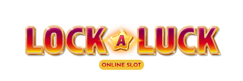 This is the logo of Lock a Luck slot used as the header image of the webpage, where people can play the game online without registration.