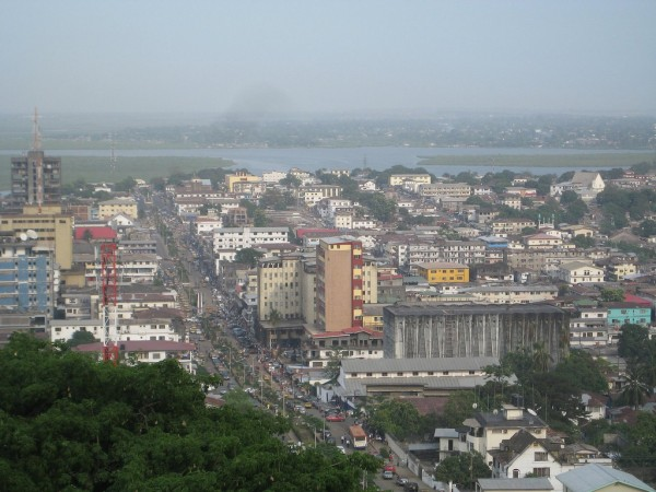 Picture of the city of Monrovia, Liberia. Gambling is legal and requires proper licences in Liberia since 2015.