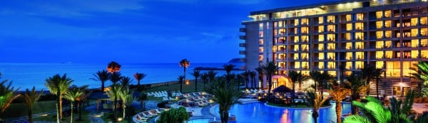 Picture of the Mövenpick Hotel & Casino located in Morocco. Gambling is legal in Morocco