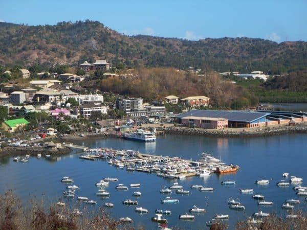 Mamoudzou, the capital of Mayotte