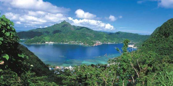 Port of Pago Pago, the capital of American Samoa
