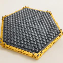 lenslet integrated onto detector waver