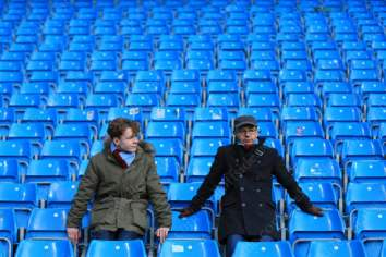 Villa fans look dejected following another woeful performance