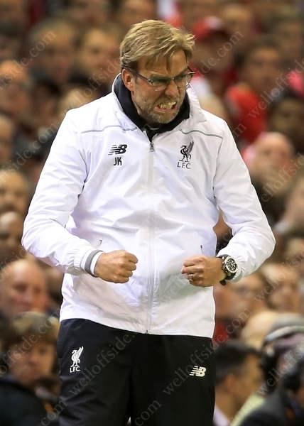 Liverpool manager Jurgen Klopp asks for a bit of muscle