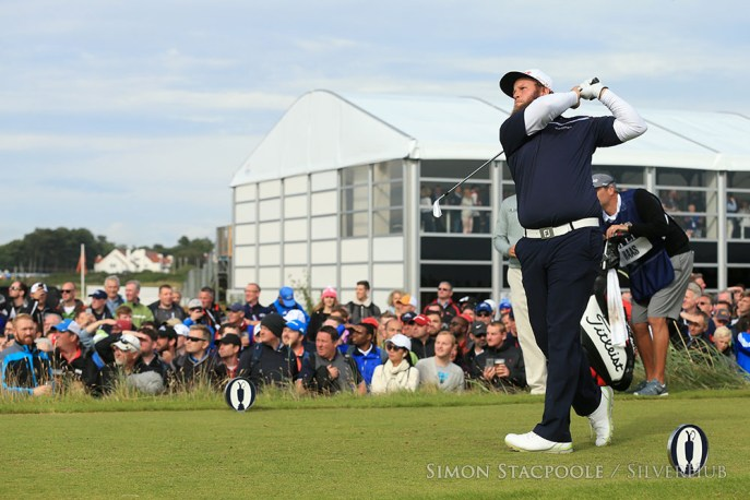 TROON, SCOTLAND - JULY 17: Andrew Johnston (ENG) on the 16th tee during the 145th Open Championship at Royal Troon Golf Club on 17th July 2016 in Troon, Scotland. Photo by Simon Stacpoole/SilverHub 0203 174 1069 / 07711 972644