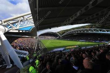 A general view of the The John Smith's Stadium in Huddersfield