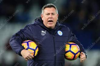 Leicester caretaker manager Craig Shakespeare takes charge