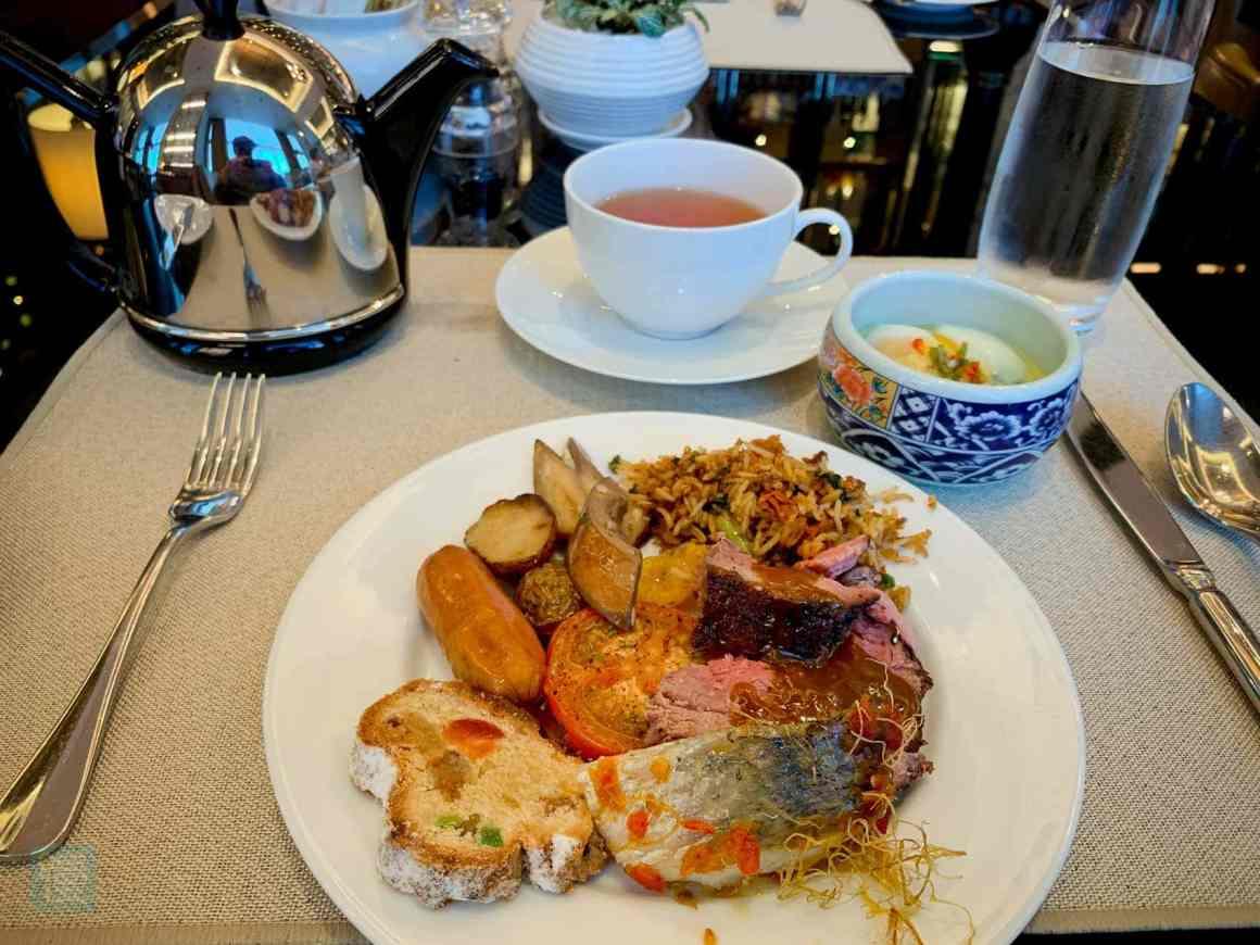 瑞吉吉隆坡酒店 自助早餐食物種類多