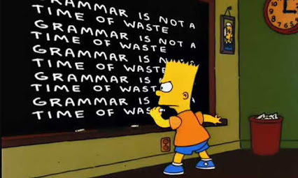 simpsons grammar