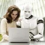 Compartiendo con robot.