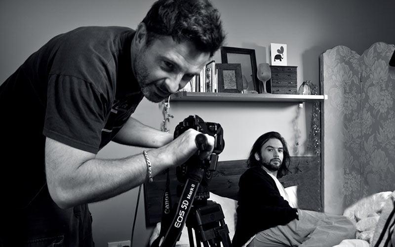 Video Shoot - Simon Web Design Portrait Photography