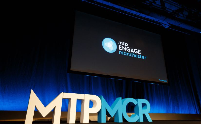 The empty stage at MTPEngage Manchester