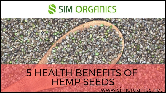 5 Health Benefits Of Hemp Seeds