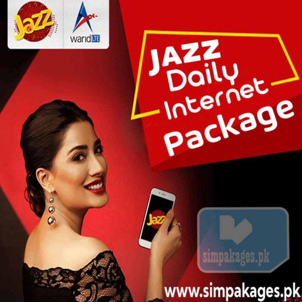 Jazz daily internet package