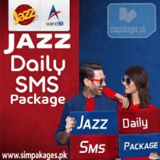 Jazz daily sms packages