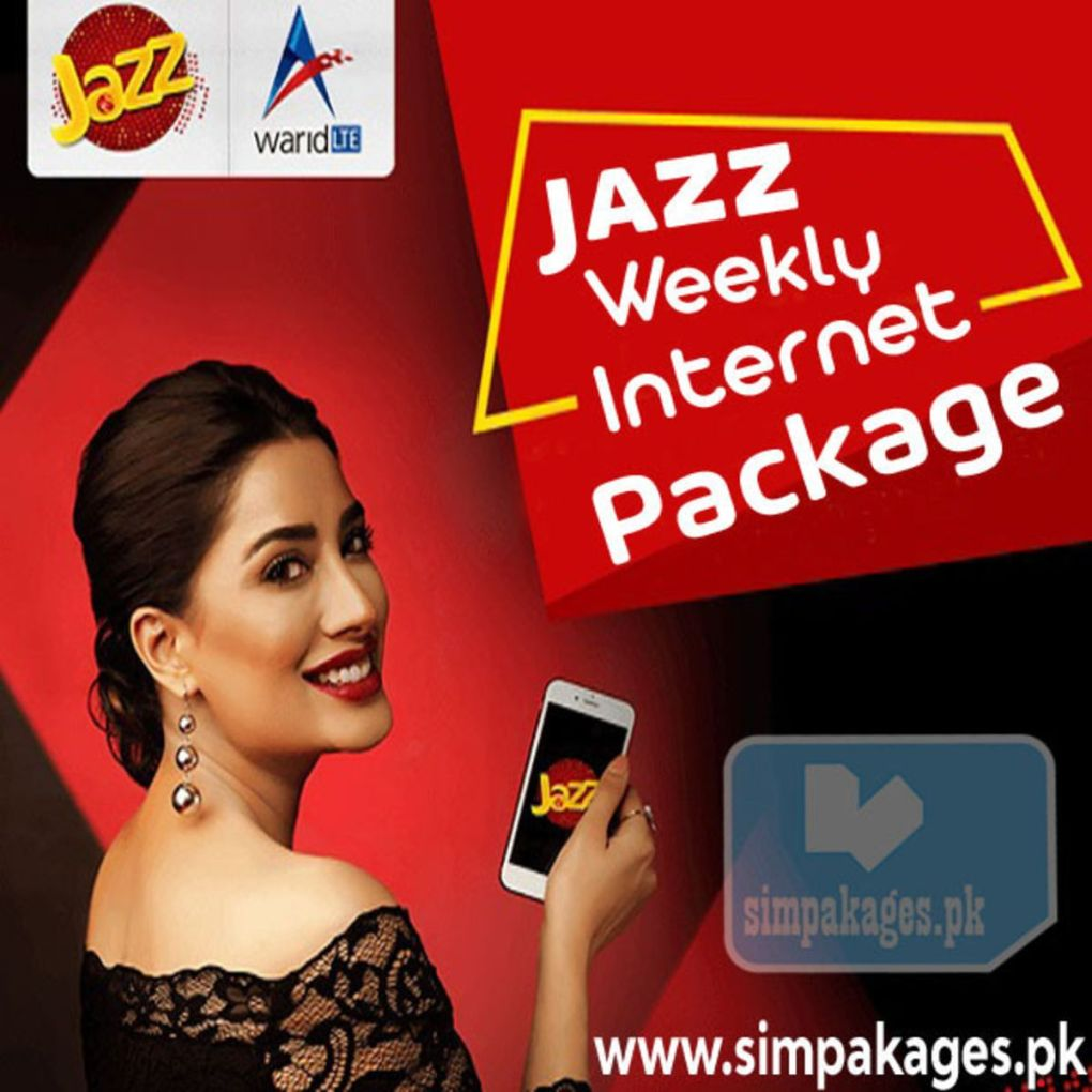 Jazz weekly internet package