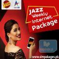 Jazz weekly internet package