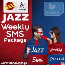 Jazz weelky sms packages