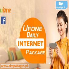 Ufone daily internet packages