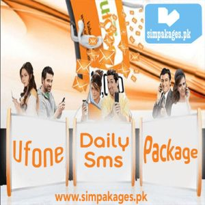 Ufone daily sms packages