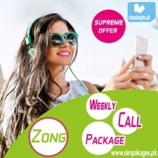 Zong weekly call packages