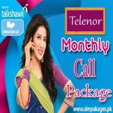 telenor Monthly call Packages