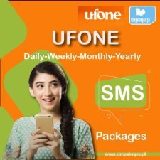ufone daily weekly monthly yearly sms packages
