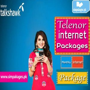 Telenor Monthly Internet Package