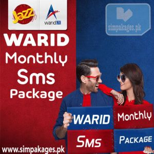 Warid Monthly Sms Packages
