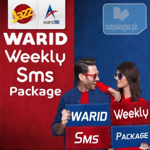 Warid Weekly Sms Packages