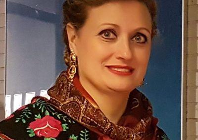 Yolanda Pisa Torralba, profesora del cuerpo de Baile