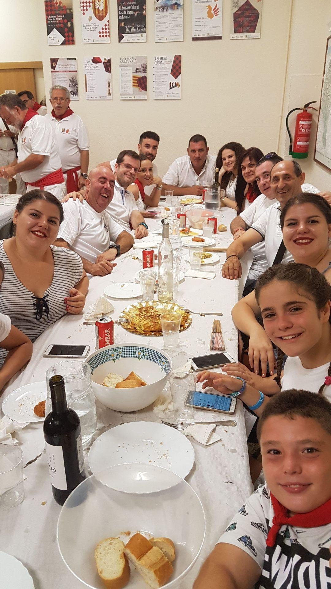 Cena en la Casa de Aragón