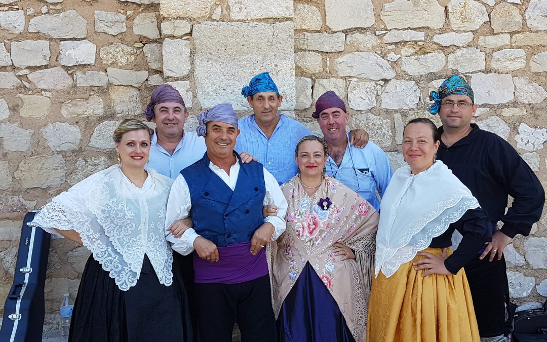 Misa Baturra de la Simpatía en La Puebla de Albortón