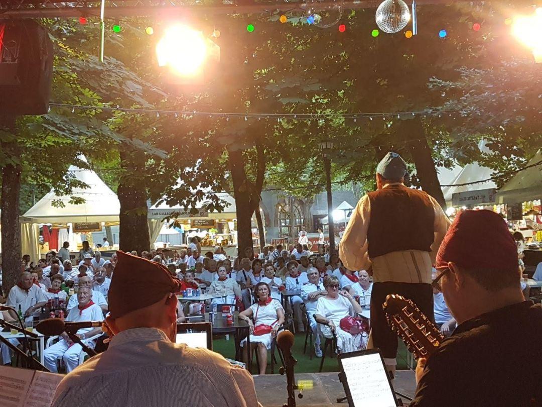 Festival en Pamplona. San Fermin 2018
