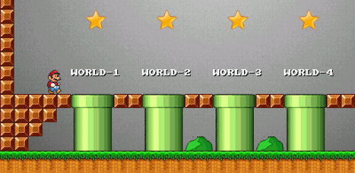 Open source android clone of super mario by Mahesh Kurmi