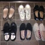2016夏、私の靴。Tomsが好きです。