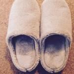 無印の冬スリッパはセールで買っておいた★家計に優しいシンプルライフ。絶対に使うとわかっているもの&服は、セールで買っておく派。