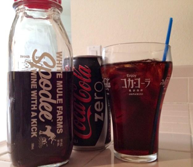 spodee and coke zero