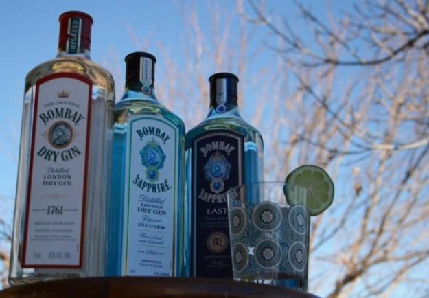 bombay gin product line